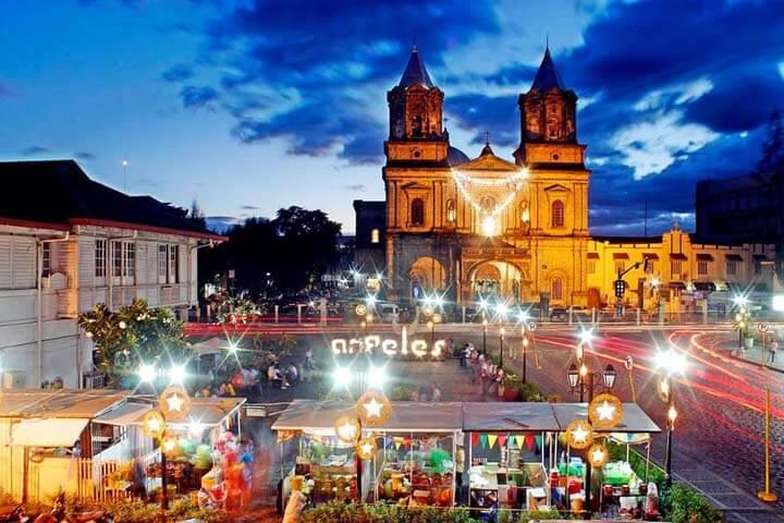 La ville d'Angeles, dans la province de Pampanga