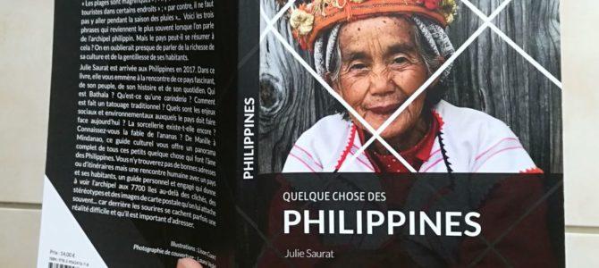 Livre : Quelque chose des Philippines de Julie Saurat aux éditions Nanika